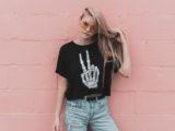 t-shirt fille mode